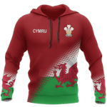 Wales Flag Hoodie Special Version HD01996