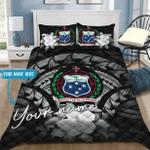 Ligerking™ Personalized Name Samoa Bedding set HD02422