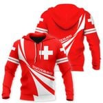 Ligerking™ Switzerland Hoodie 3D all over print HD02090