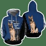 German Shepherd Dog Lover 3D Full Printed Shirt For Men And Women HD02083