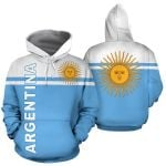 Ligerking™ Argentina All Over Hoodie HD01843