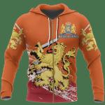 Netherlands Ligerking ™ over print hoodie HD02008