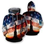 Ligerking™ American Independence Day 3D Hoodie HD02383