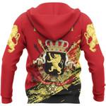 Belgium Ligerking ™ over print hoodie HD01941