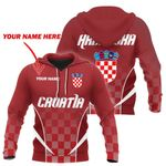 Croatia Active Special Hoodie Personalized Name Version HD02261