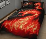 Wales Quilt Bedding Set - Cymru Flame HD02367