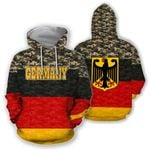 Germany All Over Hoodie - Curve Version HD01931
