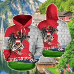AUSTRIA FOOTBALL all over printed hoodies for man and women HD01914