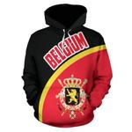 Belgium Ligerking ™ over print hoodie HD01932