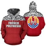 Ligerking™ French Polynesian All Over Hoodie HD01990