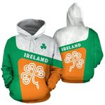 Ireland Celtic Shamrock Hoodie HD01885