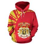 Belgium Ligerking ™ over print hoodie HD01933
