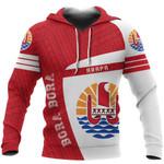 Ligerking™ Bora Bora Tahiti French Polynesia Sport Hoodie - Premium Style HD02042