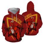 Wales Hoodie - Welsh Dragon Rugby Champion HD02117
