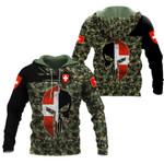 Ligerking™ Switzerland Army Hoodie  HD02064