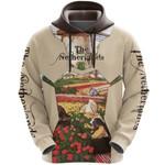 Netherlands Ligerking ™ over print hoodie HD01921