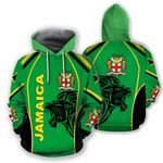 Jamaica Hoodie - The Great Lion HD02108
