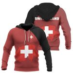 Ligerking™ Switzerland Map Special Hoodie DQH0057