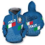 Ligerking™ Italy Hoodie - Aslant Blue Version HD01967