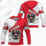 AUSTRIA all over printed hoodies for man and women HD01913
