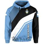 Ligerking™ Argentina Flag Hoodie - Rambo Style HD01832