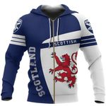 Ligerking™ Scotland over print hoodie HD02148