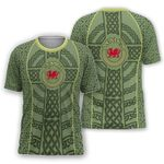 Welsh Dragon Celtic T-shirt HD01999