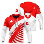 Ligerking™ Switzerland Hoodie 3D all over print HD02093