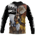 Pheasant German Shorthaired Pointer Hunting 3D All Over Printed Shirts For Men And Women HD02082