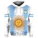 Ligerking™ Argentina Pullover Hoodie - New Release HD01848