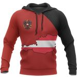 Austria Map Special Pullover Hoodie HD01911