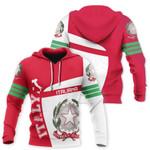 Ligerking™ Italy Hoodie - Flag Sport Premium Style HD01960