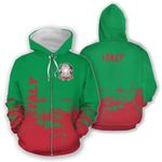 Ligerking™ Italy All Over Hoodie - Smudge Style HD01957