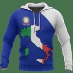 Ligerking™ Italy Map Special Hoodie HD01968