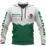 Mexico Flag Hoodie - Energy Style HD02436