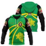 Jamaica Lion Hoodie Coat Of Arms HD02121