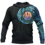 Ligerking™ French Polynesia In My Heart Polynesian Hoodie Special Version HD01975