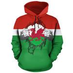 Wales Superhero Hoodie HD02410