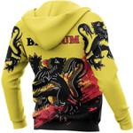 Belgium Ligerking ™ over print hoodie HD01940