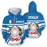 Ligerking™ Italy Hoodie Painting Style HD01955