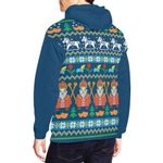 Netherlands Ligerking ™ over print hoodie HD02013