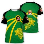 Jamaica Lion T-shirt Coat Of Arms HD02121