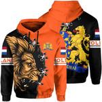 Netherlands Ligerking ™ over print hoodie HD02024