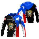 Ligerking™ Puerto Rico Hoodie 02164