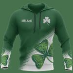 Ireland Shamrock Hoodie HD01883