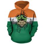 Ireland Superhero Pullover Hoodie HD01880