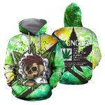 Ligerking™ 420 Hoodie Stoner Uncle 3D all over print HD01666