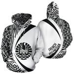 Ligerking™ French Polynesian Hoodie - Circle Style HD01991