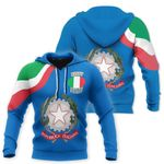Ligerking™ Italy Rugby All Over Print Hoodies HD02143