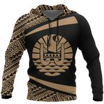 Ligerking™ French Polynesia Hoodie - Circle Gold Ver 2.0 HD02049